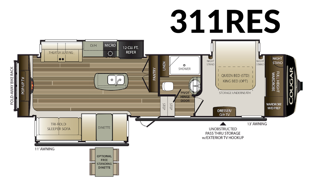311RES Floorplan