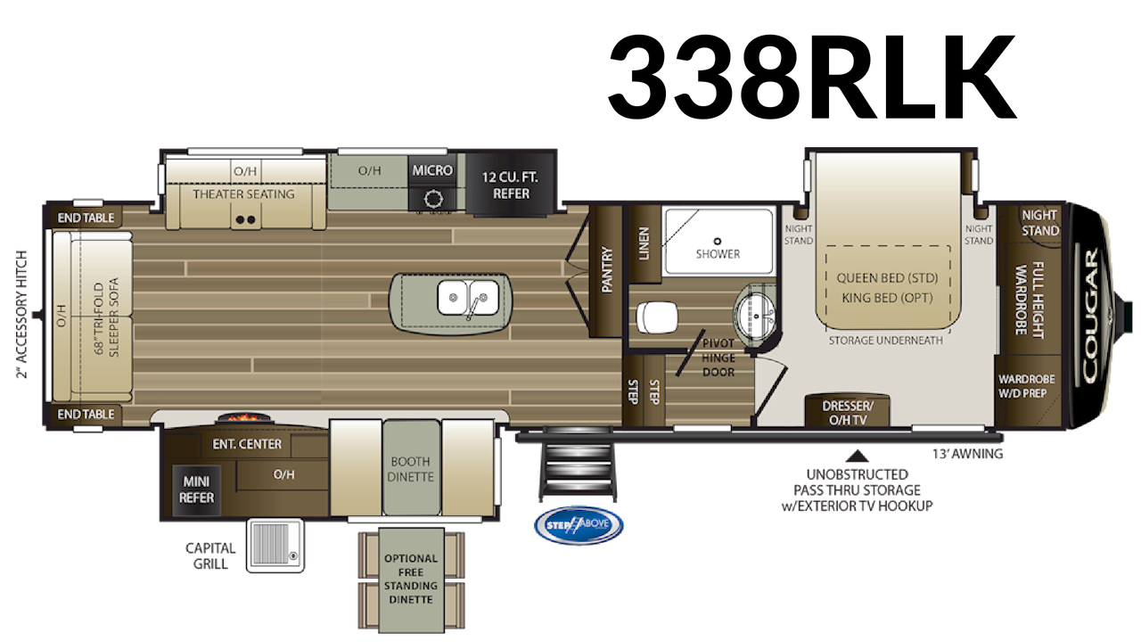 338RLK Floorplan