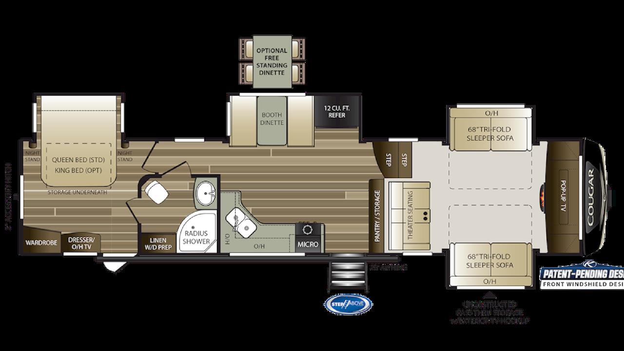 367FLS Floorplan