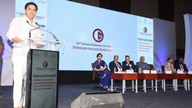 Image result for ई-गवर्नेंस पर 21वां राष्ट्रीय सम्मेलन हैदराबाद में