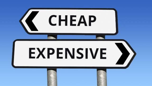 Budget 2018: Cheap vs Expensive
