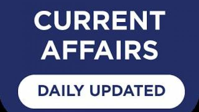 DAILY CURRENT AFFAIRS 14 March 2018 (ENG)