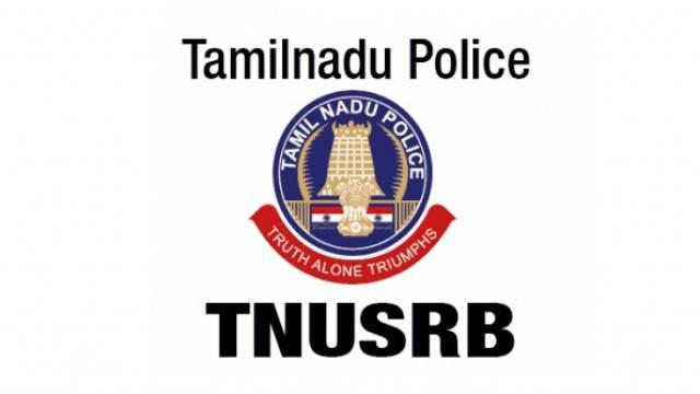 Image result for Tamil Nadu Uniformed Service Recruitment Board (TNUSRB) logo