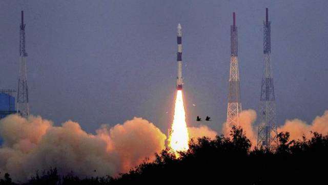 Indias Heaviest Communication Satellite Launched From French Guyana