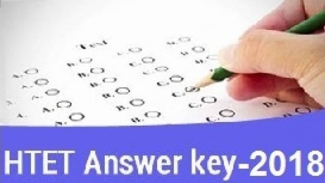 HTET Exam Keys