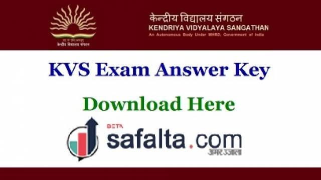 KVS Answer Key