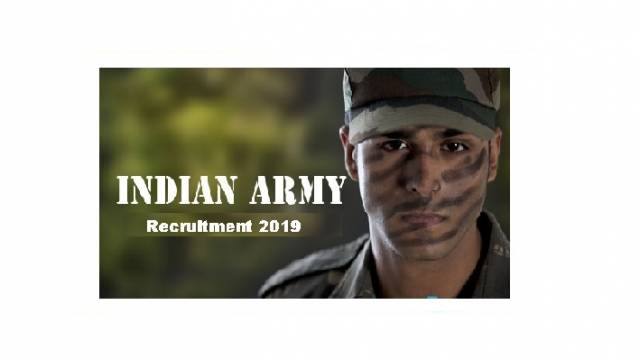 Indian Army Recruitment 2019: Apply For 189 SSC Men & Women Posts