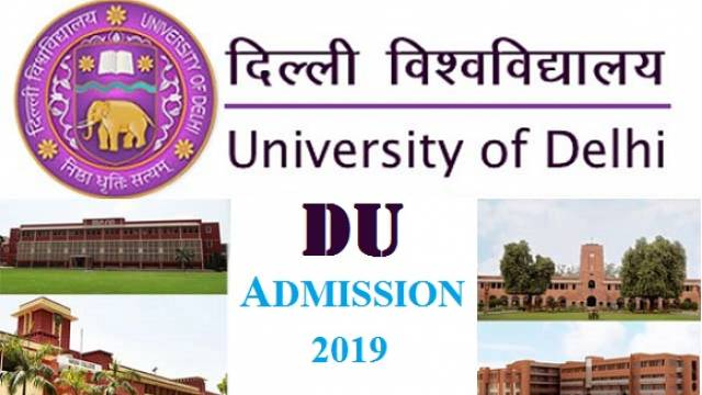 DU ADMISSION 2019