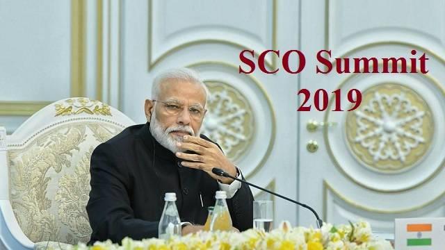 SCO Summit 2019