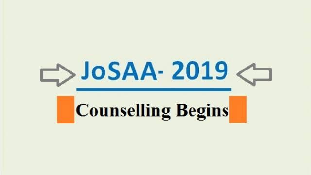 JOSAA 2019
