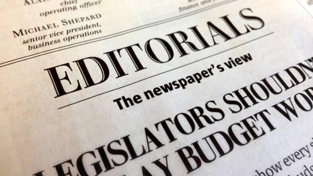Newspapers Editorials