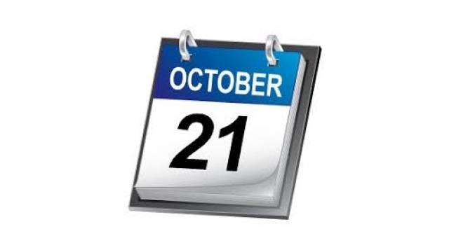 Oct 21