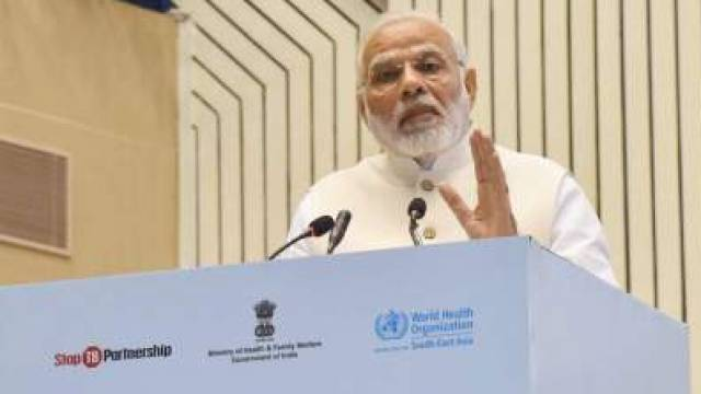 Prime Minister Narendra Modi Inaugaration END TB summit