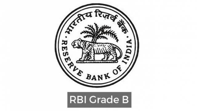RBI Grade B Recruitment 2018