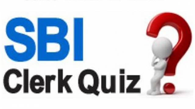 SBI Clerk Quiz 16 April 2018