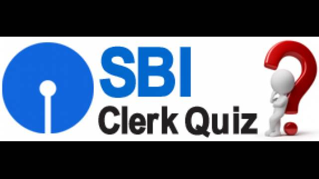 Sbi Clerk Quiz