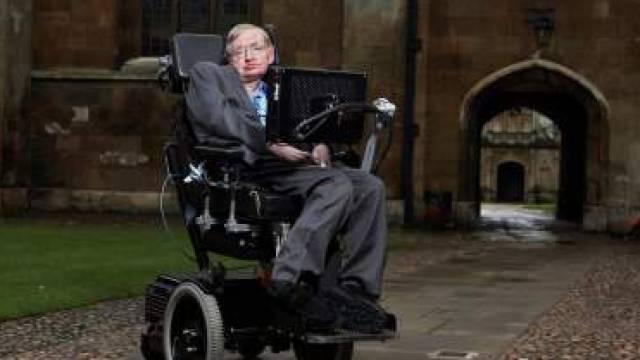 physicist Professor Stephen Hawking