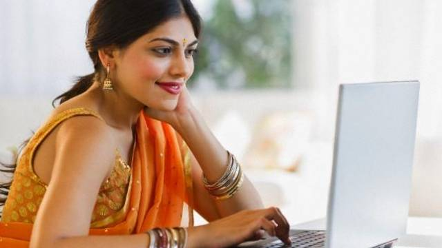 work from home women employees