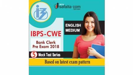 IBPS CWE Clerk 5 Mock Test Series English