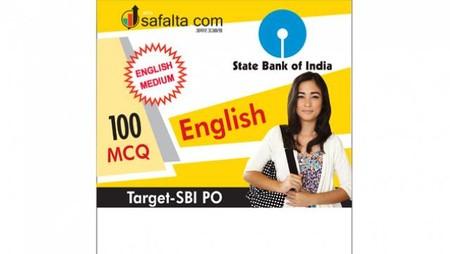 100 Mcq English Language for SBI PO Mains- English