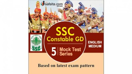 SSC GD Constable 5 Mock Test Series English