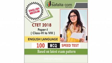 CTET ( VI TO VIII) English Language Speed Test
