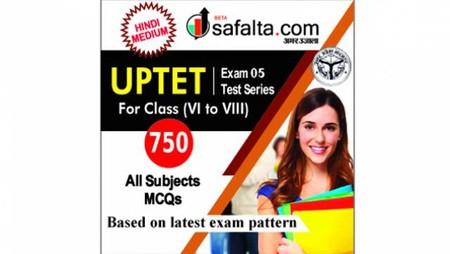 Buy UPTET Exam 5 Mock Test Series for Class (VI-VIII) @ Safalta.com
