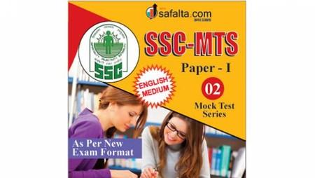Buy SSC-MTS - 02 Mock Test Series @ safalta.com