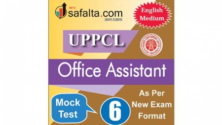 Buy UPPCL Office Assistant Mock Test - 6th Edition @ safalta.com