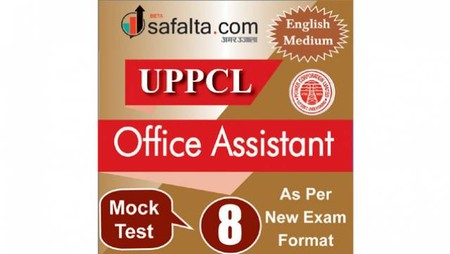 Buy UPPCL Office Assistant Mock Test - 8th Edition @ safalta.com
