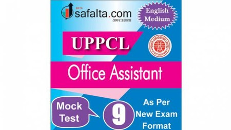 Buy UPPCL Office Assistant Mock Test - 9th Edition @ safalta.com