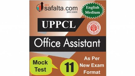 Buy UPPCL Office Assistant Mock Test - 11th Edition @ safalta.com