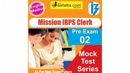 Buy IBPS Clerk 02 Mock Test Series 2018 Online @ Best Price