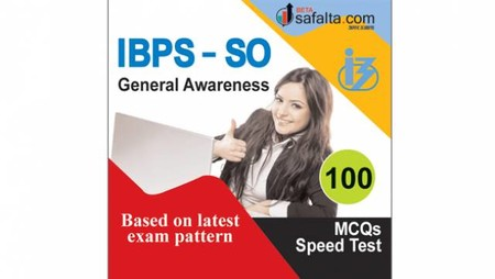 Buy General Awareness Speed Test for IBPS-SO @ Safalta.com