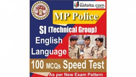MP Police SI Technical Group 100 Mcqs Speed Test @ safalta.com