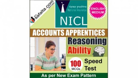 Buy NICL Accounts Apprentices 100 Mcqs Reasoning Ability Speed Test @ safalta.com