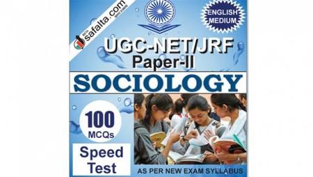 Buy UGC-NET/JRF Paper-2 Exam Speed Test For Sociology
