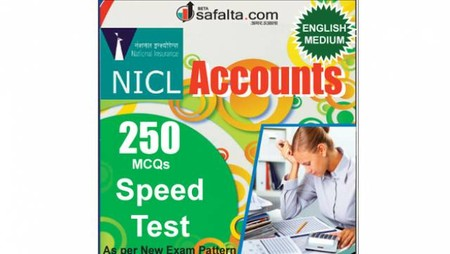 Buy NICL Accounts Apprentices 250 Mcqs Accounts Speed Test @ safalta.com