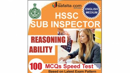 Buy Reasoning Ability Speed Test for HSSC Sub Inspector Exam 2018 @ Safalta.com