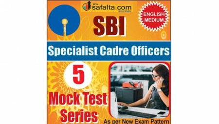 Buy SBI Specialist Cadre Officer Online 05 Mock Test Series @ Safalta.com