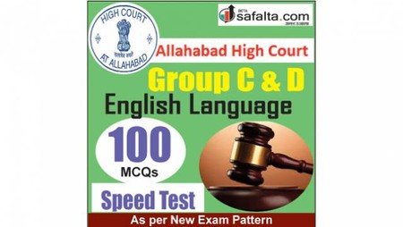 Buy English Language Speed Test for Allahabad High Court Group C&D Exam 2018 @ Safalta.com