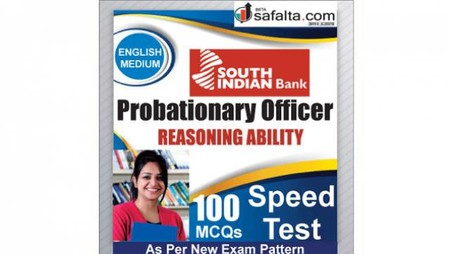 Buy South Indian Bank PO 100 Mcqs Reasoning Ability Speed Test @ safalta.com