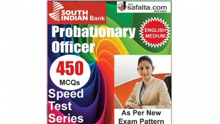 Buy 450 Mcqs Subject Wise Speed Test Series For South Indian Bank PO