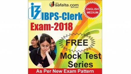 IBPS Clerk Pre Mock Test (Free) @ safalta.com