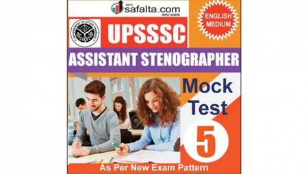 Buy UPSSSC Assistant Stenographer Mock Test - 5th Edition @ safalta.com