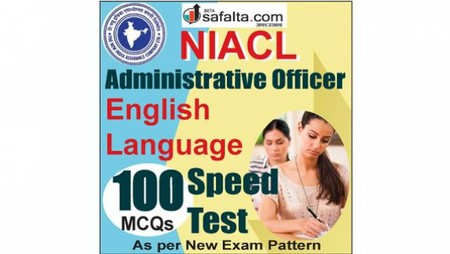 Buy NIACL Administrative Officer Pre English Online Speed Test @ Safalta.com