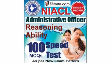 Buy NIACL Administrative Officer Reasoning Ability Online Speed Test @ Safalta.com