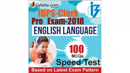Buy IBPS-Clerk 100 Mcqs English Language @ safalta.com