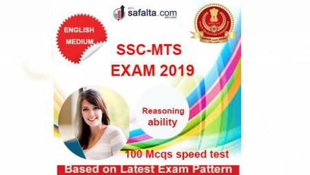 Buy SSC MTS 100 Mcqs Reasoning @ safalta.com