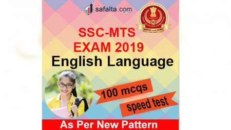 Buy SSC MTS 100 Mcqs English Language @ safalta.com